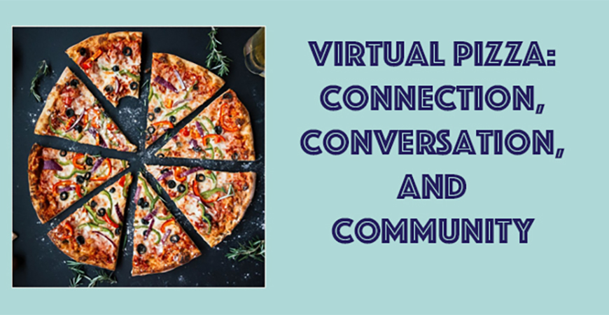 """The Office of Mission and Ministry has been serving the community well since the COVID-19 pandemic, including its """"Virtual Pizza"""" event."""