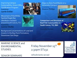 Nov22Senior Seminar