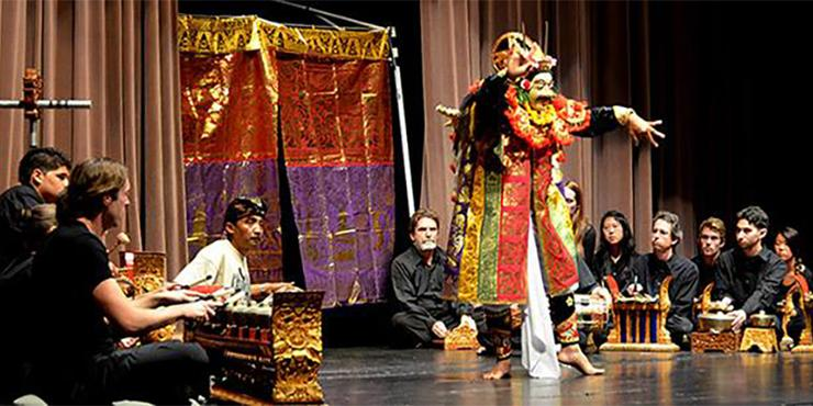 The USD Gamelan Ensemble will perform tonight, May 7, in Shiley Theatre.  So, too, will the USD Mariachi Ensemble. The show starts at 7:30 p.m.
