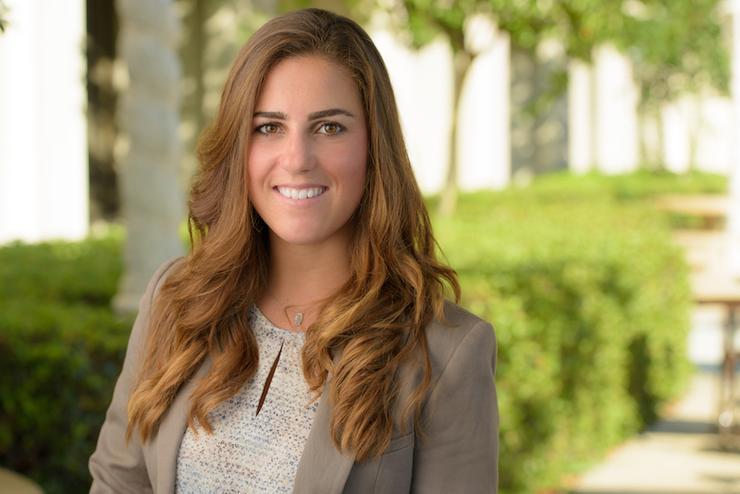 USD School of Business Entrepreneurship Manager, Regina Bernal