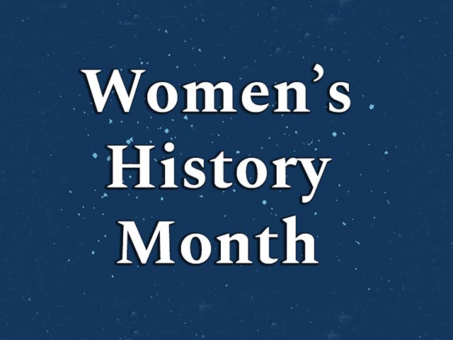 Women's History Month icon