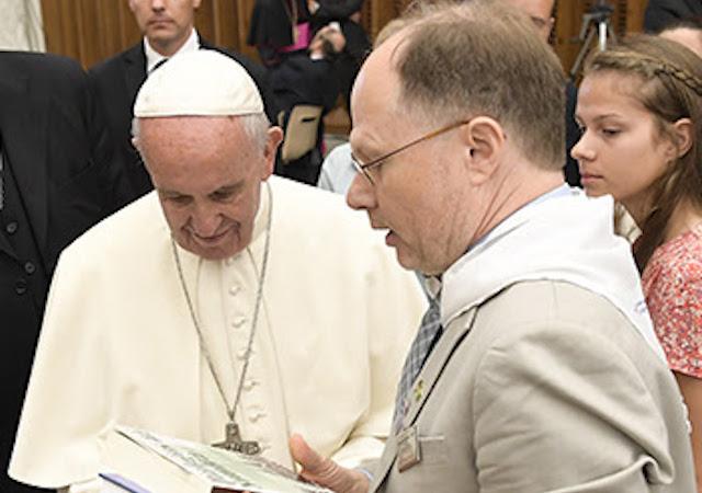Pope Francis with Ken Serbin, PhD