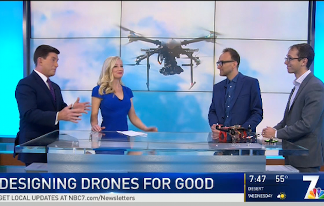 Drones for Good on NBC 7