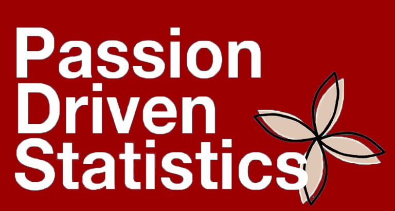 Passion Driven Statistics Red Logo