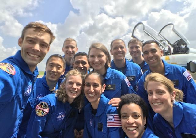 2017 NASA astronaut class selfie