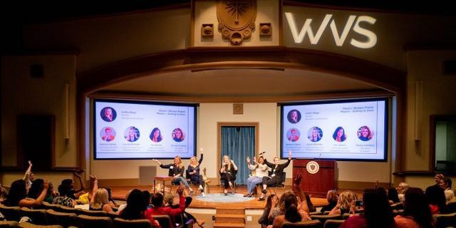 More than 200 attendees gathered at USD for the Sixth Annual Women's Venture Summit