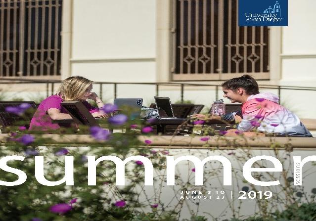 Summer Sessions 2019 Flier