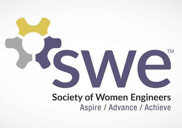 Society of Women Engineers event logo