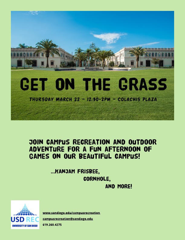 Get on the Grass Event