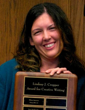 Amber McMains, Poetry winner