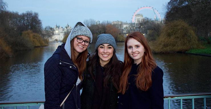 London is one of several destinations for USD undergraduate students to go for an international study abroad trip during Intersession 2020. Graduate students also go abroad during Intersession.