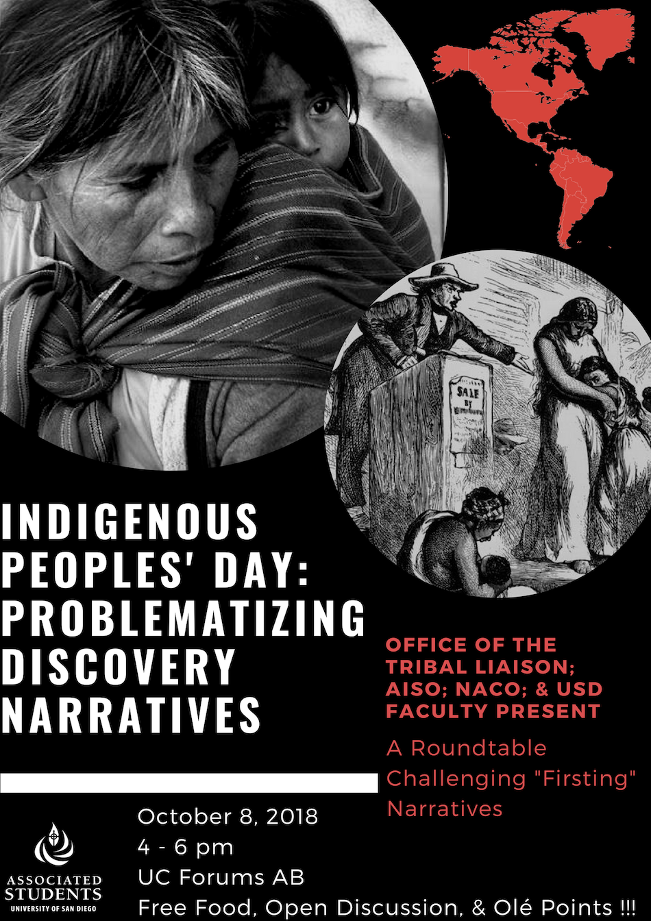 Indigenous Peoples' Day: Problematizing Discovery Narratives