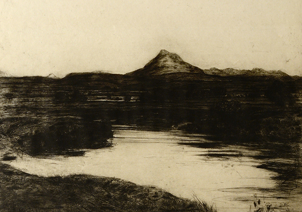 View of Ben Ledi by D. Y. Cameron