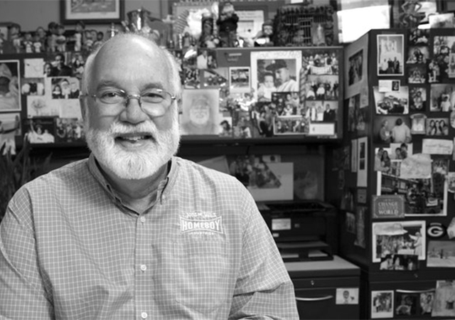 father greg boyle in his office