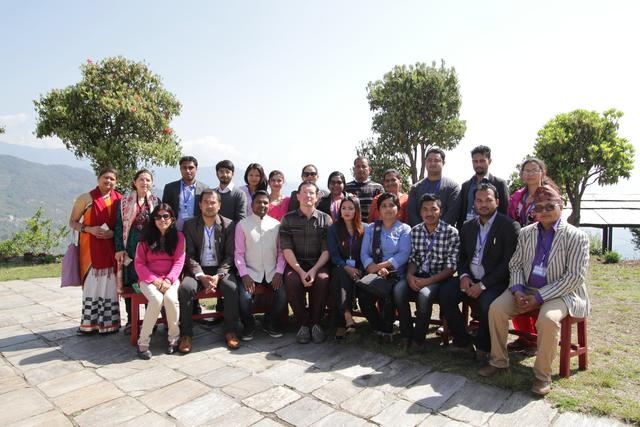 The NELP participants in Dolakha for the second seminar.