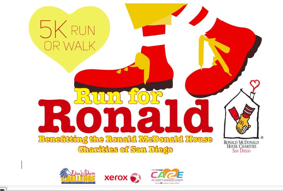 Run for Ronald 5K