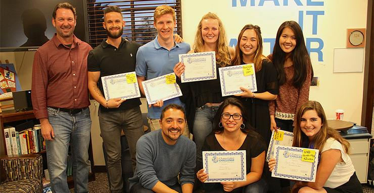 USD Changemaker Challenge finalists found out the results — final votes and prize money — of their videos that proposed water conservation and consumption issues.