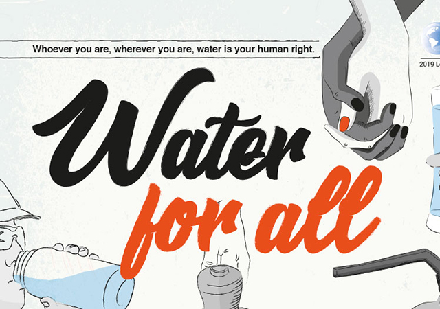 World Water Day Poster Water for All