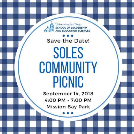 SOLES Community Picnic Save the Date