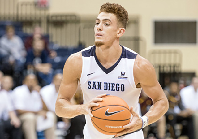 Isaiah Pineiro, USD Men's Basketball