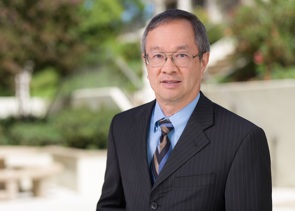 USD School of Business Professor of Economics Alan Gin