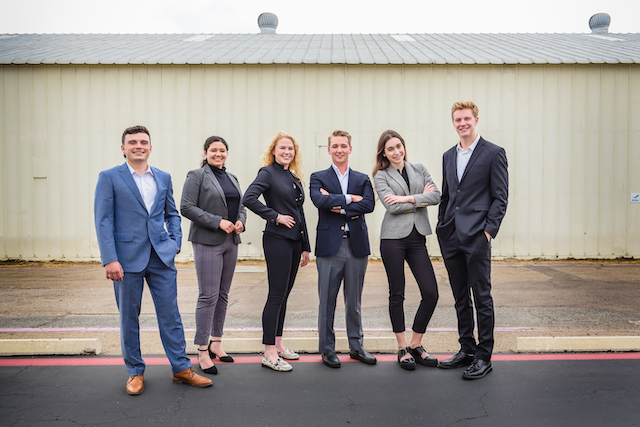 Image is of the 2021 USD NAIOP Team