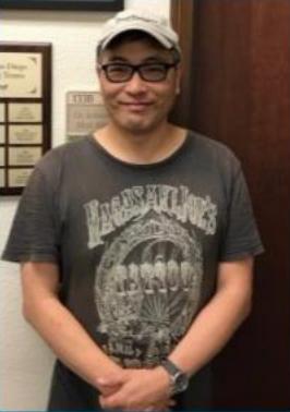 Philip Lau posing and smiling