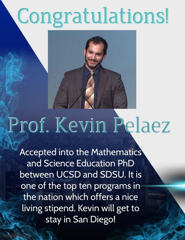 Kevin Palaez Smiling