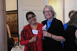 Peace Writer Sue Diaz and Rehana Hashmi