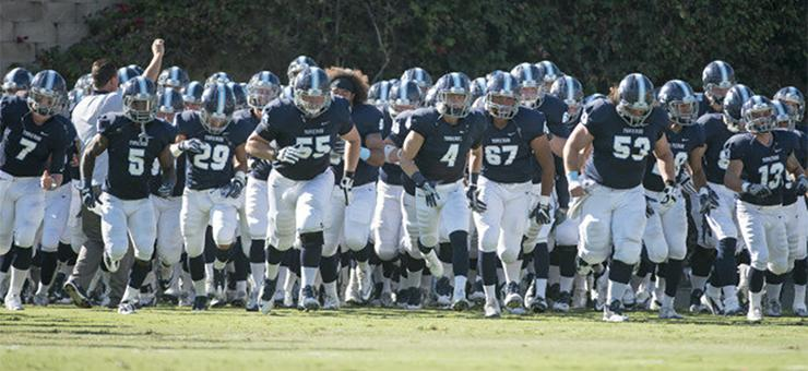 The USD Torero football team has been picked in a poll of Pioneer Football League coaches as the favorite to win the regular-season title in a preseason poll. USD's season starts Sept. 2.
