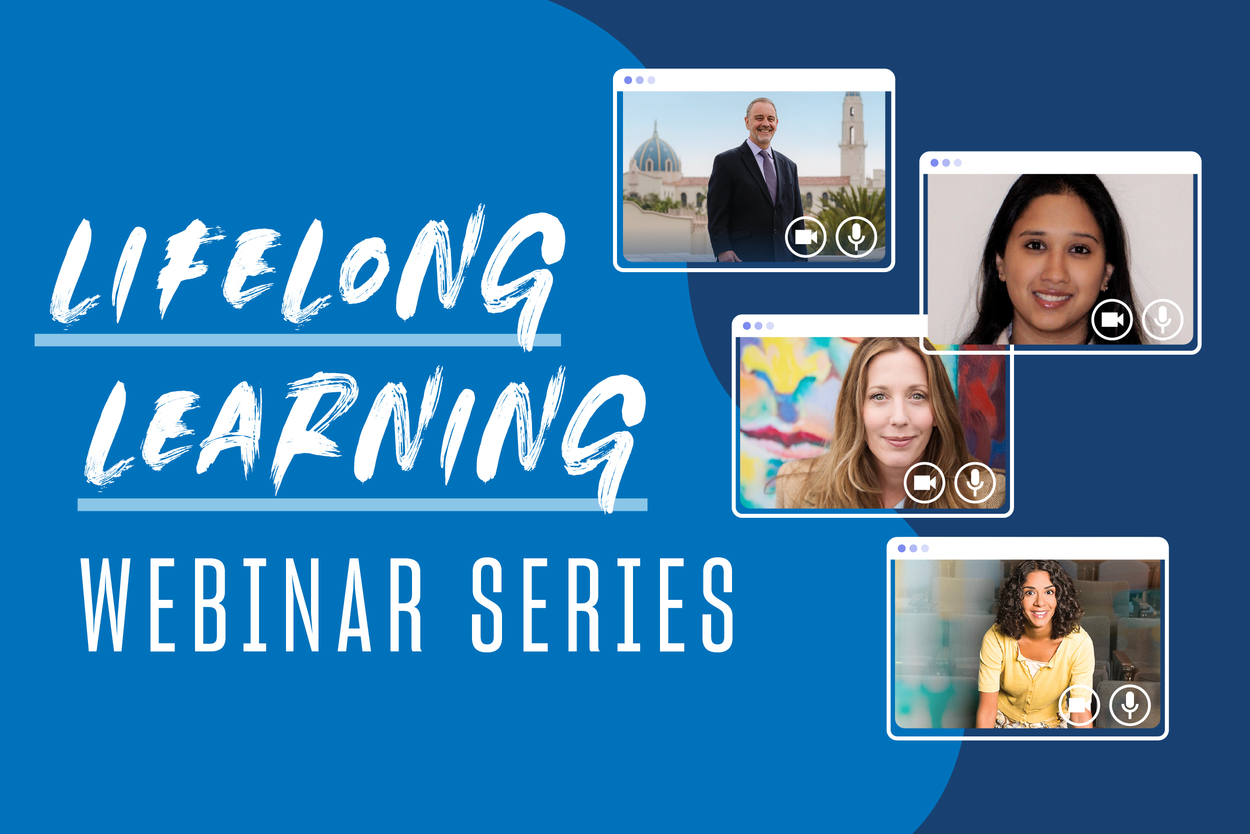 Lifelong Learning Webinar Series