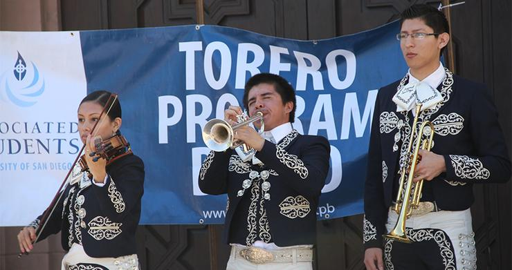 USD's Mariachi Ensemble and the USD Music Department will host a Mariachi Showcase event March 10 and 11 at Shiley Theatre. High school, college and professional Mariachi will perform.