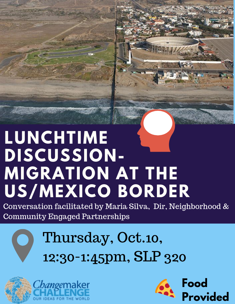 Flyer for Lunchtime Discussion