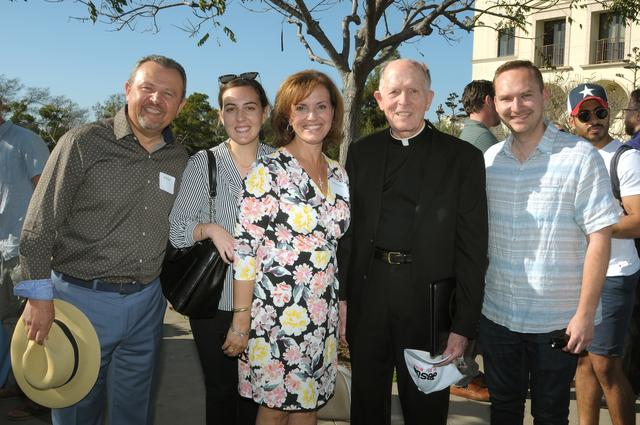 Al Paulus, Samantha (Paulus) Yeilding, Maha Paulus, Father William Headley, Mark Yeilding