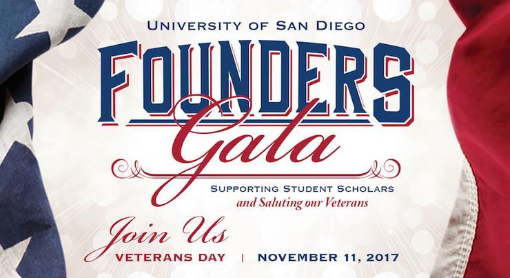 USD Founders Gala, November 11, 2017