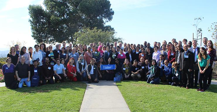 The University of San Diego, seen here hosting the 2017 Fulbright Visiting Scholars, will do another enrichment seminar program this week off campus for 90 Fulbright visiting scholars.