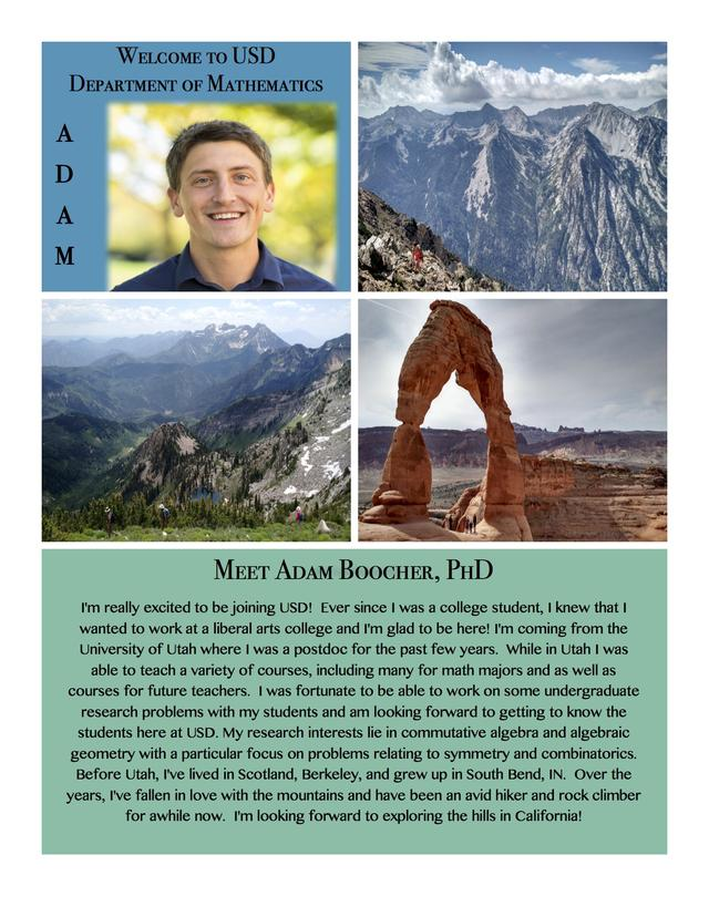 Adam Boocher, PhD, Smiling