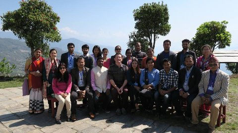 Members of the Nepali Emerging Leaders Program.