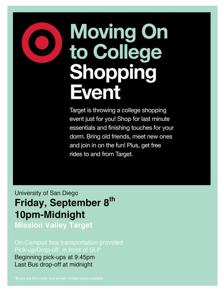 Target Shopping Night