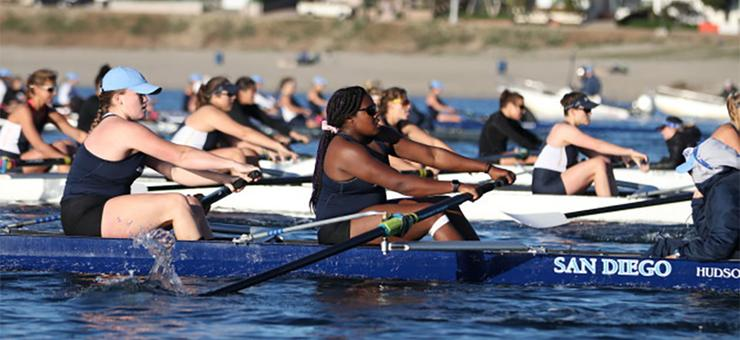 The women and men's rowing teams at USD will compete in the 45th San Diego Crew Classic this weekend. It's also a USD celebration of the programs' 40th anniversary.