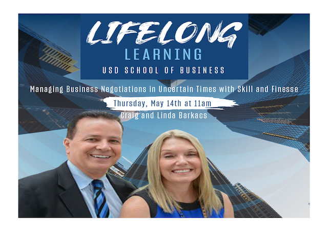 Image of guest speakers Craig and Linda Barkacs