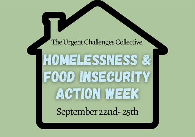 Homelessness and Food Insecurity Action Week 2020