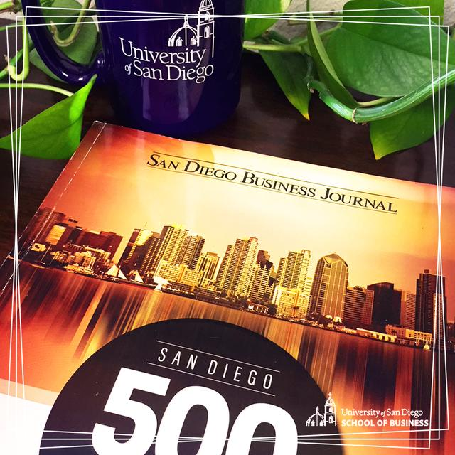 The 2019 edition of the San Diego Business Journal's San Diego 500