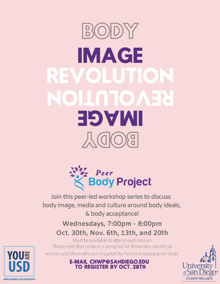 Peer Body Project Flyer