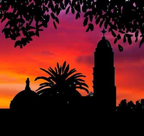 Immaculata sunset