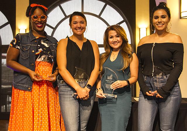 2018 Women of Impact winners (sans Kirkley)