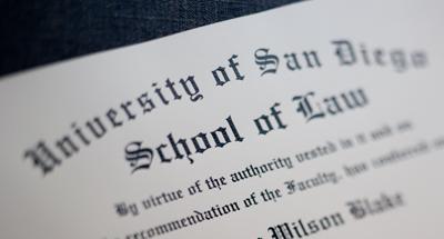 USD School of Law Diploma