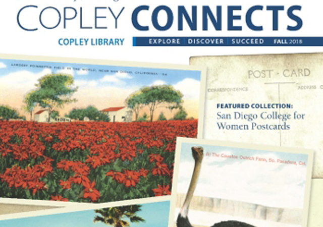 Cover of Copley Connects Newsletter
