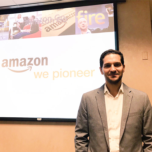 Chris Peyre, USD alumnus and Head of Worldwide Supply for Amazon Prime Now