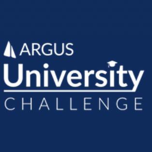 Photo is the logo of the ARGUS University Challenge